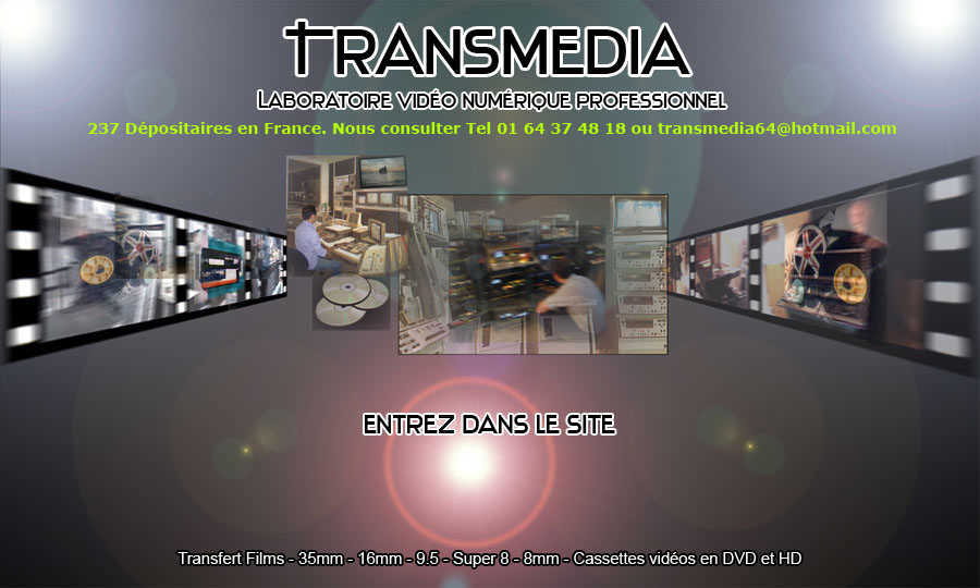 transfert films 8 mm en dvd